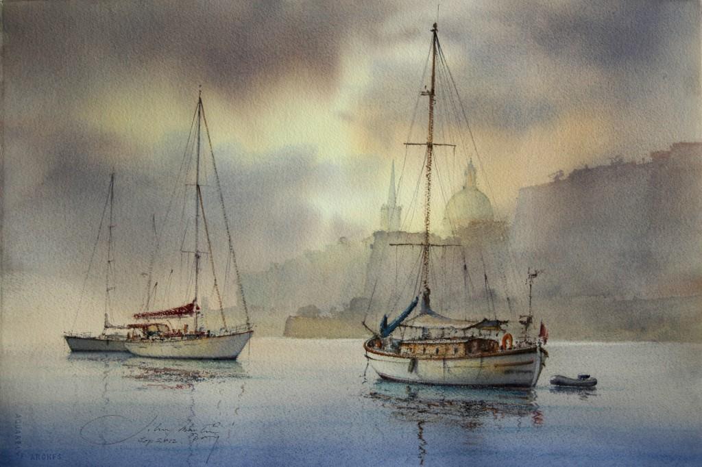 Few of John Martin Borg Maritime Collection
