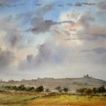 Autum sky over Mdina 1-11-1205