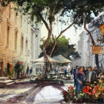 Flower Kiosk - St. John's square -Valletta