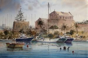 Boats at Manoel Island  - Malta