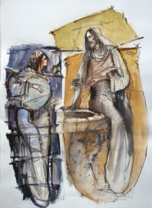 Christ and the Samaritan woman - Jul.2015
