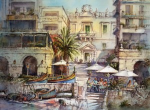 Coffee at Spinola - Malta (1)