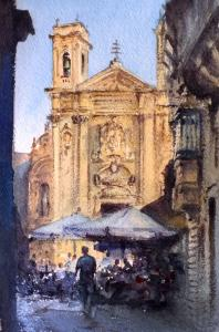 St George's Square, Gozo - June 2017