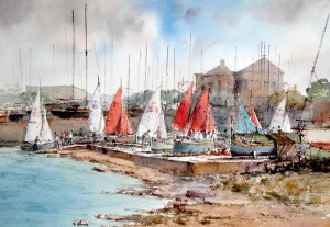 Dinghies at Manoel Island