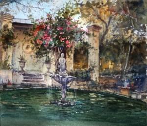 Garden in villa Meckrech Ghaxaq  - Malta