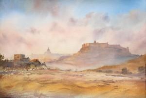Last of the morning mist -Gozo