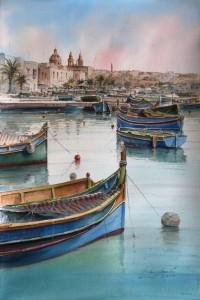 Marsaxlokk Habour - Malta