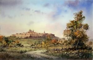 Mdina across the fields - Malta