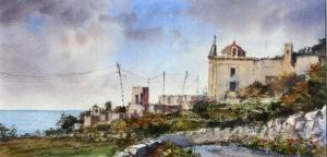 Road to Fawwara Chapel - Malta