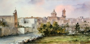 Road to Gharghur  - Malta