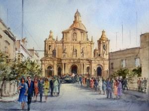 Siggiewi wedding day  - Malta