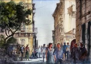 St. John Square Valletta  - Malta