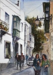 Street in Attard - Malta