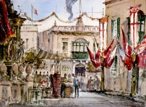 Study No2 for Festa at Balzan - Malta (1)