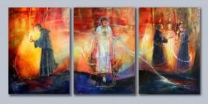 Triptych St. Augustine.