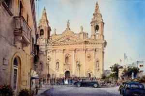 Wedding at Naxxar - Malta (1)