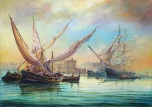 loading cargo - Gand Harbour - Malta
