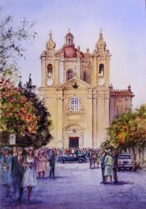 wedding at Lija - Malta